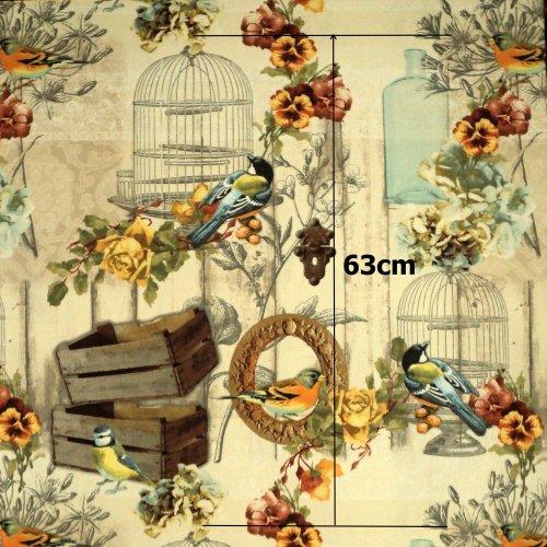 Metráž dekorační 100% CO,240g/m2, šířka 140 cm, 1 ks = 63 cm