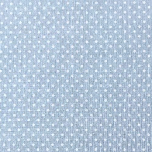 Bavlněná látka metráž, české plátno, 100% CO, 140g/m2, šířka 150 cm, puntík 2 mm, atest