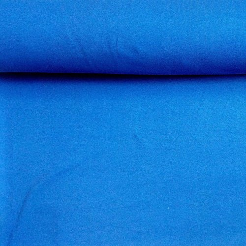 Elastická látka náplet -tunel, 95% CO, 5% EL, 235g/m2, šířka 2 x 96 cm
