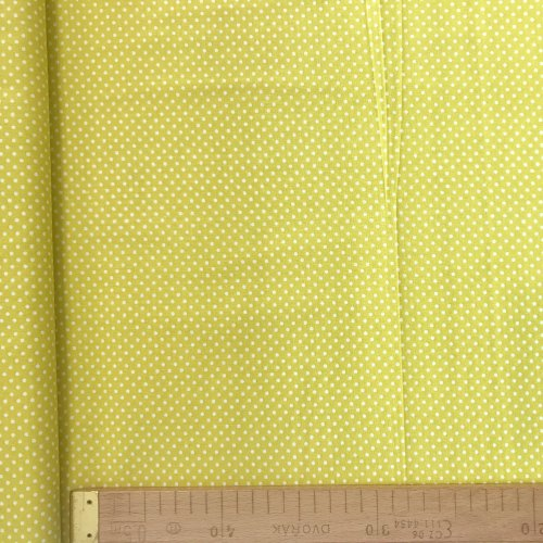 Bavlněná látka metráž, české plátno, 100% CO, 140g/m2, šířka 140 cm, 2mm puntík