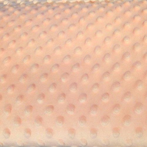 Minky metráž, velmi jemná měkká látka, 100% polyester, 280g/m2, šířka 160 cm