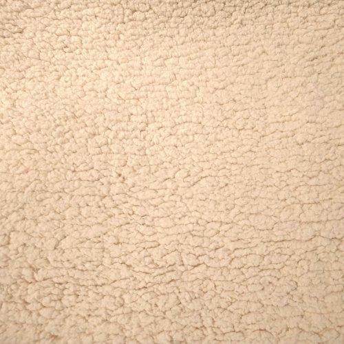 Látka minky beránek šerpa přírodní režná bílá oranžová mimi dětská na zavinovačky hnízda