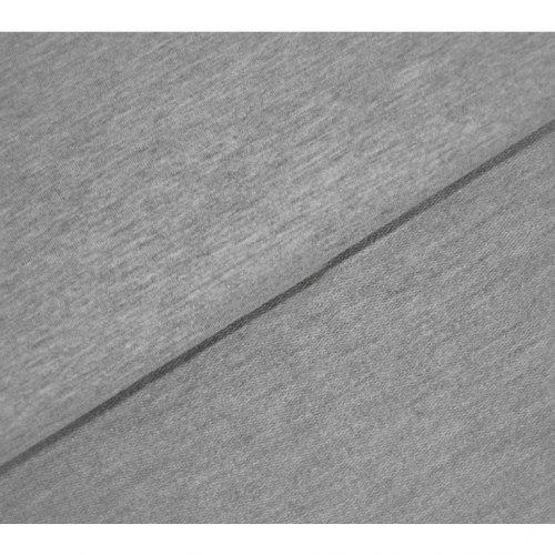 Látka metráž teplákovina, počesaná, 65% CO, 35% PES, 320g/m2, šířka 185 cm
