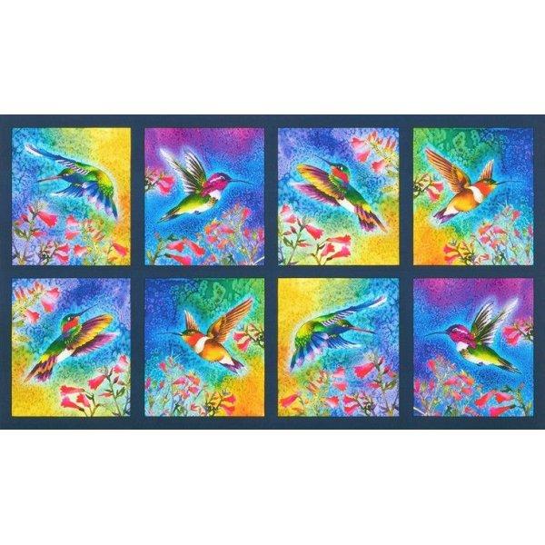 Látka plátno panel na patchwork,100% bavlna, velikost 60 x 110 cm