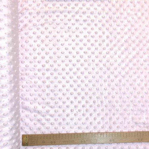 Metráž minky, velmi jemná měkká látka, 100% PL, 280g/m2, šířka 160 cm