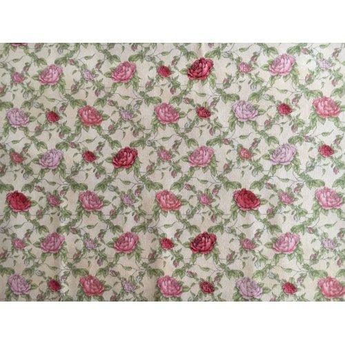 Bavlněná látka doplňková k Mirabelle La Vie En Rose, 100% bavlna, šířka 110 cm