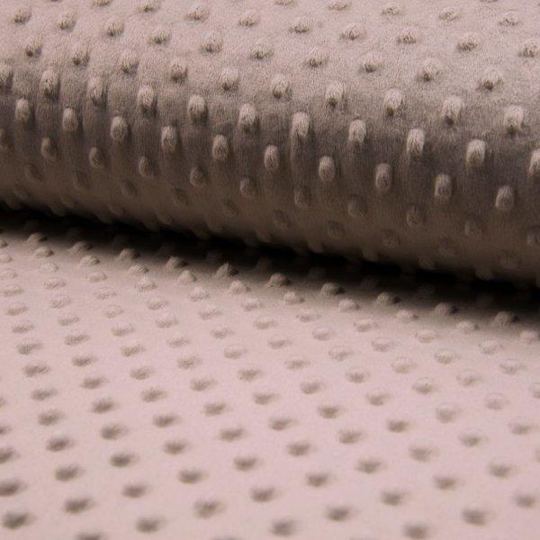 Látka minky, velmi jemná měkká metráž, 100% polyester, 280g/m2, šířka 160 cm