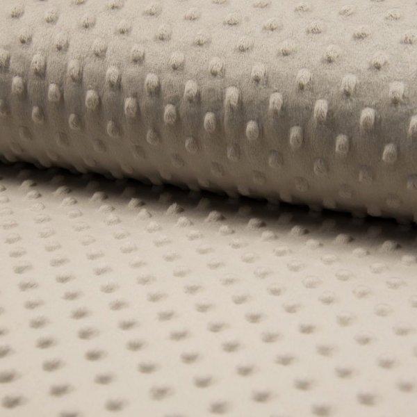 Minky v metráži, velmi jemná měkká látka, 100% polyester, 280g/m2, šířka 160 cm