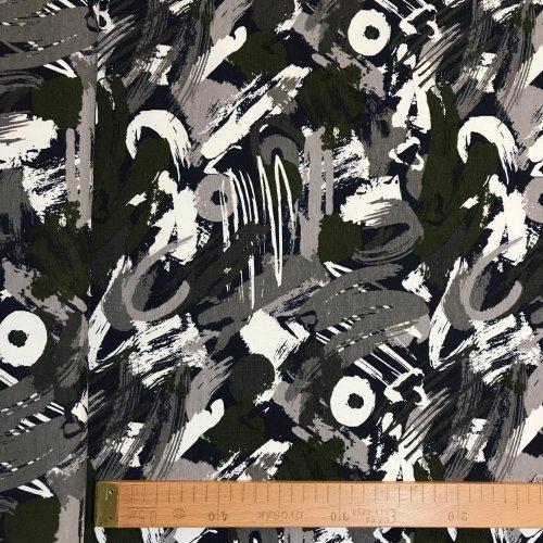 Nepočesaná teplákovina na mikiny tepláky černá šedá zelená srdíčka creative art bílá kolečka