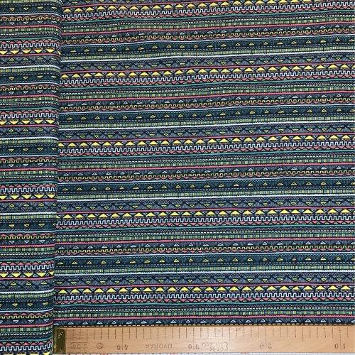 Metráž plátno 100 bavlna tan parallel art umění na bytové dekorace povleky
