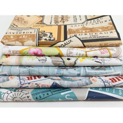 Látka bavlněné plátno, dovozové z EU, 100% bavlna, šířka 150 cm, 140g/m2