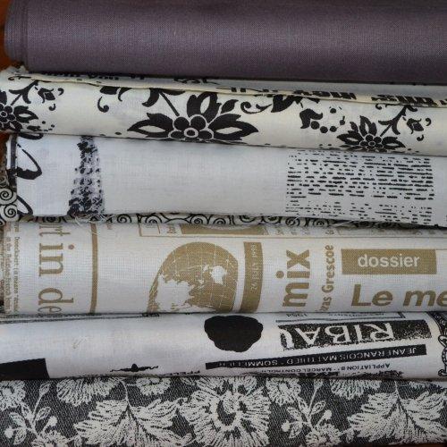 Bavlněná látka od českého výrobce 100% bavlna, 140g/m2, šířka 140 cm