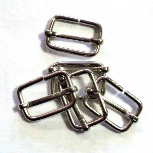Průvlečná spona nikl, vnitřní rozměry 30 mm a 19 mm, síla drátu 3,5 mm