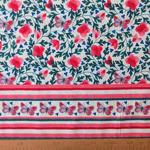 Dovozová látka od MEZ Fabrics, 100% CO, šířka 145 cm