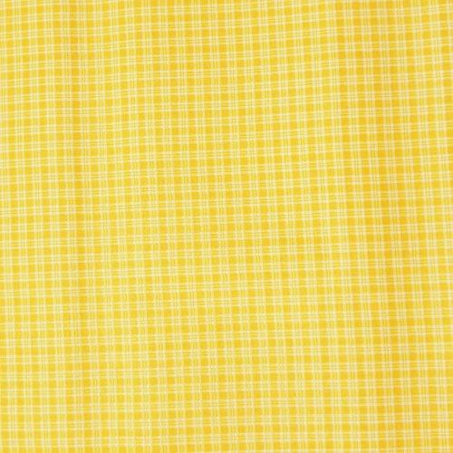 látka plátno kanafas kanafásek kostičky žlutá bílá na patchwork závěsy