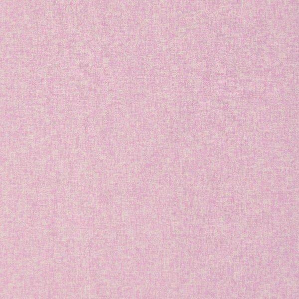česká jednobarevná bavlněná látka na patchwork růžová mimi bílá