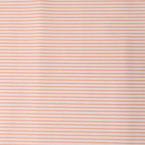 látka metráž 100 bavlna bílé světle růžové lososové proužky pruhy stripes