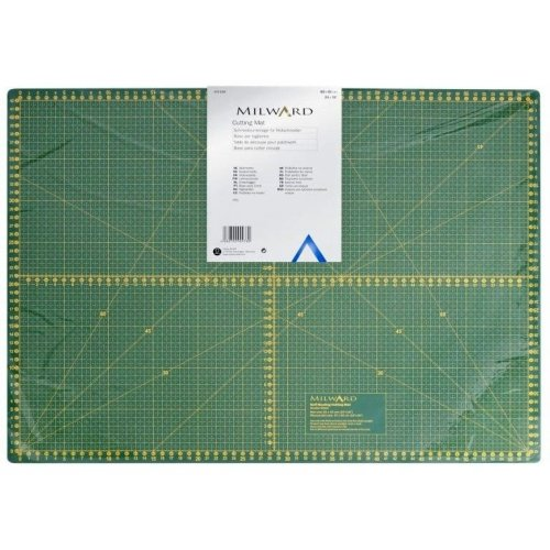 řezací podložka na patchwork velikost A2 zelená řezák kolečko skalpel