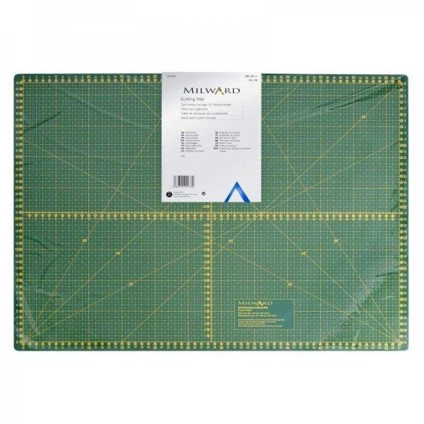 Podložka na řezání látek patchworku 5 vrstvá, 60x 90 cm,neboli 24 x 36 palců