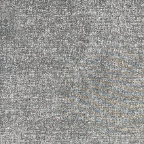 jednobarevná látka šedo bílá vlákna prokládaná na šití 100 bavlna metráž