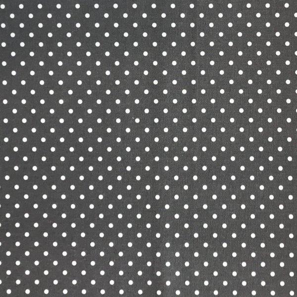 Látka bavlněné plátno, český výrobce, 100% CO, 140g/m2, 4mm puntík, šířka 150 cm, atest