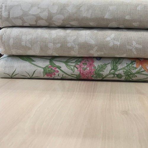 Metrový textil dekorační, oboustranná bordura, dovozový, 80% CO, 20% PL, 210g/m2, šířka 140 cm