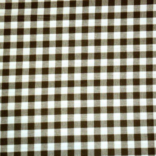 Látka kanafas z ČR 100% bavlna, 160g/m2, šířka 140 cm, velikost kostky 1 cm