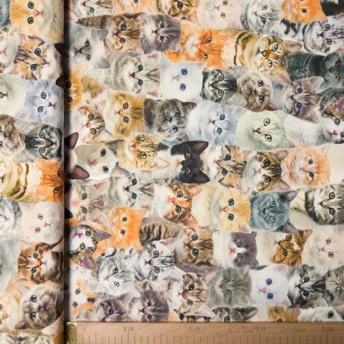 Dekorační metrový textil, dovozový, 100% CO, 210g/m2, šířka 140 cm