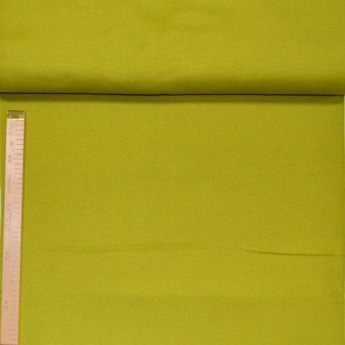 Režná dekorační metráž žlutozenená žlutá zelená na závěsy a potahy
