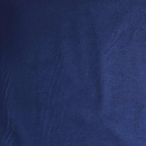 bavlněná jednobarevná látka plátýnko na šití dekorace závěsy královsky modrá sytě lapis lazuli blue
