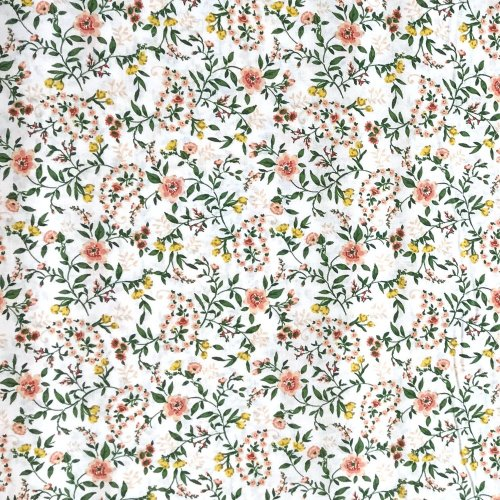Látka bavlněné plátno, dovozové od STOF France, 100% bavlna, šířka 160 cm, 140g/m2