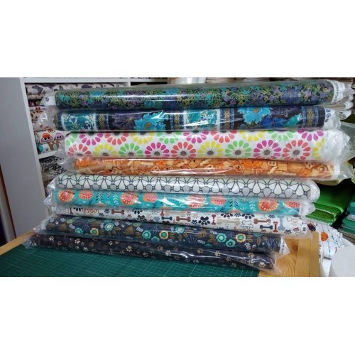 Americká bavlněná látka od Camelot Fabrics, 100% bavlna, šířka 110 cm