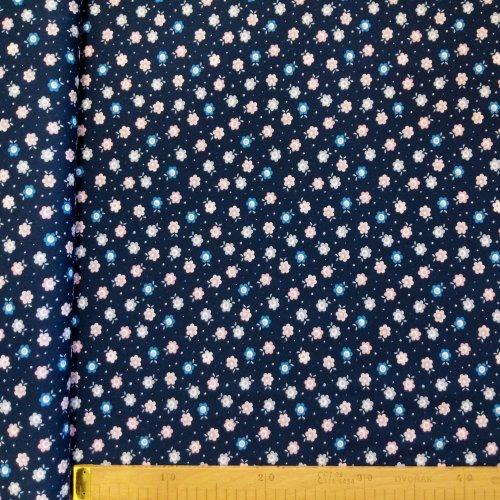 Bavlněný úplet metráž na sukně, dovozový, 98% CO, 2% EA, 120g/m2, šířka 160 cm