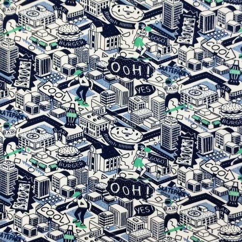 Úplet metráž na trička, dovoz STOF Fabrics, 95% CO, 5% EA, 120g/m2, šířka 140 cm