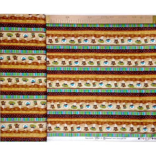 Bavlněná látka americká od Clothworks, 100% bavlna, šířka 110 cm