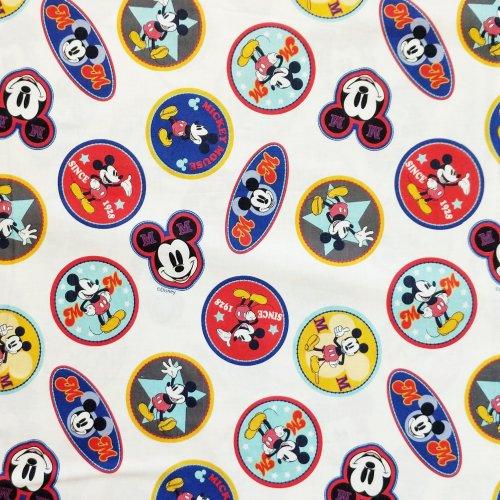 látka dětský vzor disney pohádka mickey mouse disneyland na dekorace