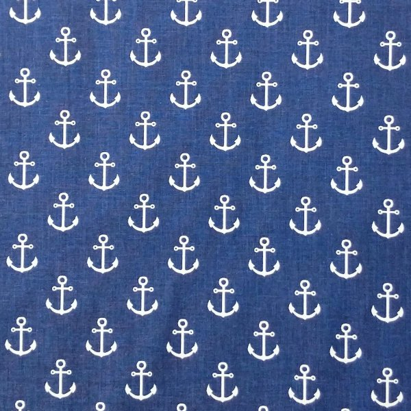 námořní bavlněná látka na povlečení polštářů ložní peřin dětských pokojíčků závěsy dekorace námořnické