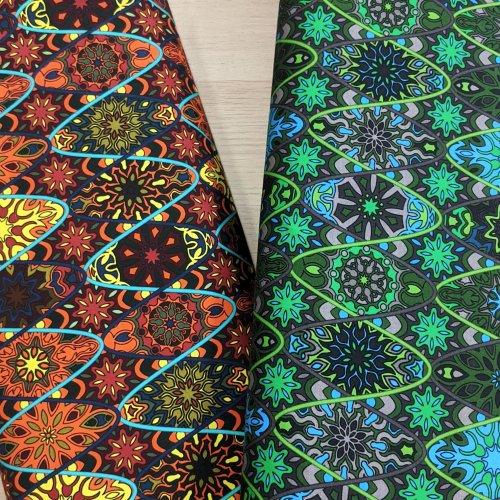 Úplet elastický jersey na šaty, metráž ze zahraničí, 95% CO, 5% EA, 210g/m2, šířka 150 cm