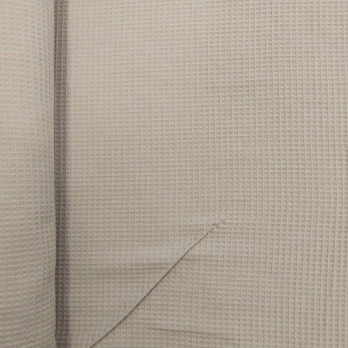 Látka vaflovina metráž, příjemná měkká metráž, dovozová, 100% bavlna, 230g/m2, šířka 155 cm