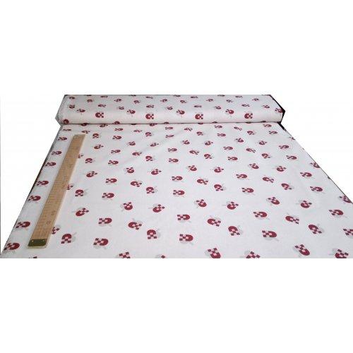 Bavlna plátno v metráži od českého výrobce 100% bavlna, 140g/m2, šířka 150 cm