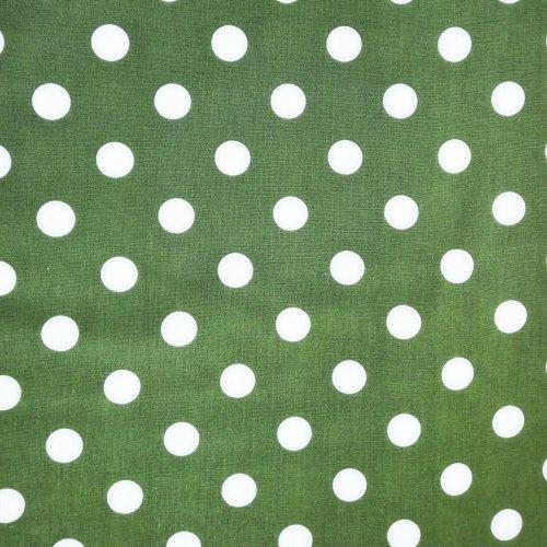 Česká bavlněná látka,100% bavlna, 140g/m2, šířka 140 cm, puntík 2 cm