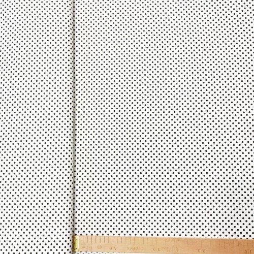 Látka bavlněné plátýnko, český výrobce, 100% CO, 140g/m2, šířka 140 cm, puntík 4 mm