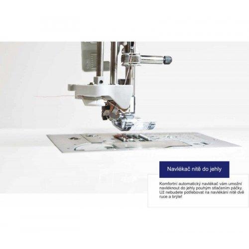 Elektronický jednojehlový šicí stroj s 80 druhy stehů, s maximálně jednoduchou obsluhou a...