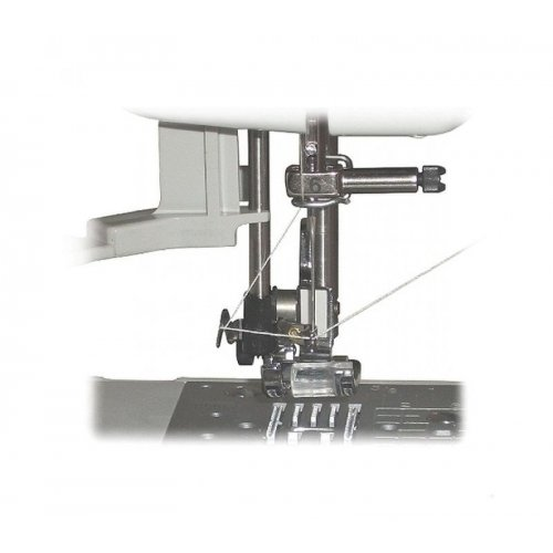 Elektronický jednojehlový šicí stroj pro začátečníky i pokročilé, s maximálně jednoduchou obsluhou.