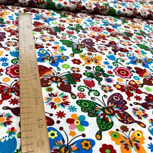 Látka bavlna metráž, zahraniční plátno, 100% CO, 140g/m2, šířka 140 cm