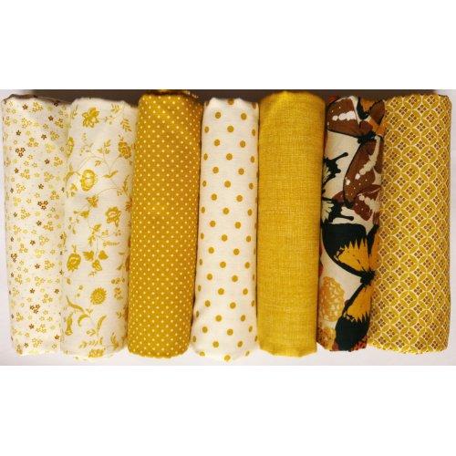 Bavlněné látka od českého výrobce 100% bavlna, 140g/m2, šířka 140 cm