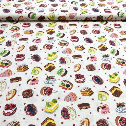 Látka bavlnametráž, zahraniční plátno, 100% CO, 140g/m2, šířka 160 cm