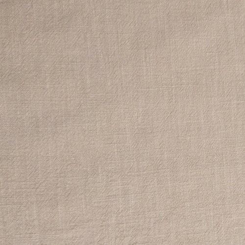 Dovozová látka lněná 100% ramie béžová bílá káva na kalhoty trika šaty