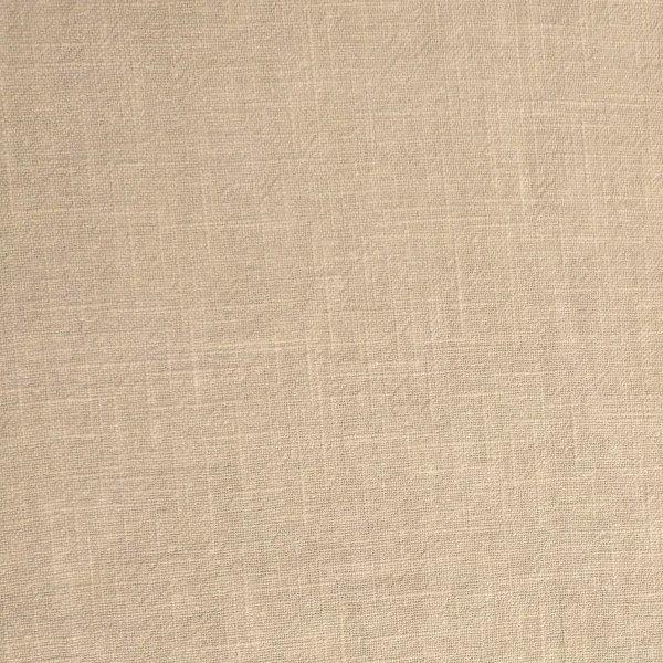 Lněná látka metráž dovoz 100% ramie béžová jednobarevná na šití oblečení šatů