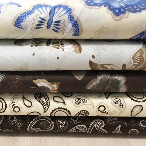 Látka bavlna plátno, dovoz zahraničí, 100% CO, 140g/m2, šířka 140 cm